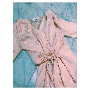 Gorgeous top-shop light pink blouse